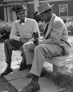 , african american, black, college, fashion nifty-fifties-fashions