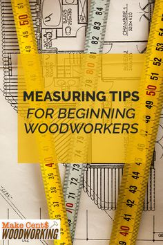 Get started with woodworking by learning the basics of measuring with these measuring tips for beginners. Wood Projects That Sell, Woodworking Projects That Sell, Diy Wood Projects, Woodworking Crafts, Woodworking Plans, Wood Crafts, Coin Tricks, Plywood Board, Wood Working For Beginners