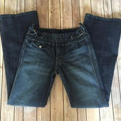 [7 for All Mankind] Bootcut Jeans Love these jeans and they are in amazing shape but just a little too tight for me. No trades and will consider reasonable offers. Inseam approximately 32 inches. Tag says 28, Fits more like a 27. 7 for all Mankind Jeans