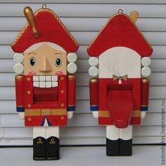 Щелкунчик деревянная игрушка - игрушка,кукла,Новый Год,сувениры и подарки