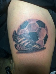 Tatto i love you football