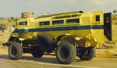 Casspir Mine Protected Vehicle - Tank Encyclopedia South Africa, Monster Trucks, History, Vehicles, Historia, Car, Vehicle, Tools