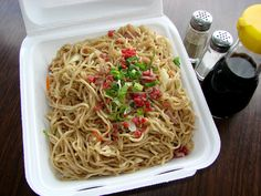 "Waipahu Eats: Sato's Okazuya ""Famous"" Fried Noodles 
