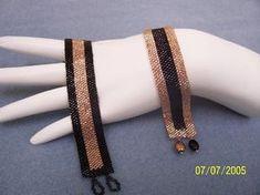 Beaded Jewelry Designs, Seed Bead Jewelry, Bead Jewellery, Jewelry Art, Jewelery, Handmade Jewelry, Loom Bracelet Patterns, Bead Loom Patterns, Bracelet Patterns