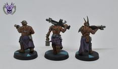 #ChaoticColors #commissionpainting #paintingminiatures #Miniaturepainting #Tabletopgames #Wargaming #Miniatures #art #creative #hobby #paintingwarhammer #gamesworkshop #Wh40k #warhammerquest #rpg #blackstonefortress #chaos #Cultists