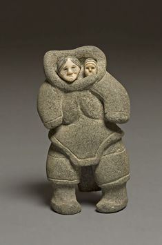 14 May 13.  Sheokjuk Oqutaq Canadian, 1920–1982 Mother and Child, 1952