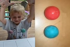 Super Bouncy Balls | Crafts for Kids | PBS Parentsor each ball that you make, you'll need:  1 T. white glue 1/2 tsp. borax powder (can be found in the laundry detergent aisle of most grocery/department stores) food coloring 3 T. cornstarch 4 T. warm water