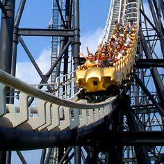 Japan's most famous amusement park at the foot of Mount Fuji.