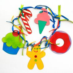 candyland party decorations props | Lilly K Candyland Bunting