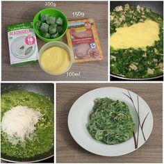 """Gefällt 0 Mal, 1 Kommentare - visual recipe step by step (@cookingwithm.e) auf Instagram: """"#Lowcarb- #Pasta mit einer #Spinat- #Schinken- #Sauce. --------------- #Rahmspinat…"""""""