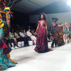 for Day 2 of #SAFW we were treated to this gorgeous collection by @richfactory incorporating bold wax prints and contemporary silhouettes.  #fashion #news #MarieClaireSA via MARIE CLAIRE SOUTH AFRICA MAGAZINE OFFICIAL INSTAGRAM - Celebrity  Fashion  Haute Couture  Advertising  Culture  Beauty  Editorial Photography  Magazine Covers  Supermodels  Runway Models