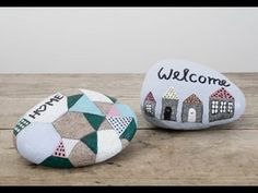DIY: Paint on stones with stone lacquer by Søstrene Grene
