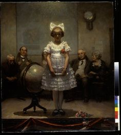 The Auditions - Norman Rockwell