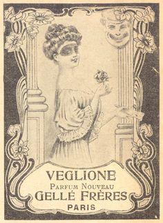 Art Nouveau Veglione Parfum Nouveau ad