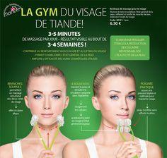 Tonifier et raffermir l'ovale du visage avec un masseur simple mais ô combien efficace par tianDe  #beauté #visage #soins #gymfaciale #cosmétique #lifting #massage