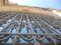 grated window