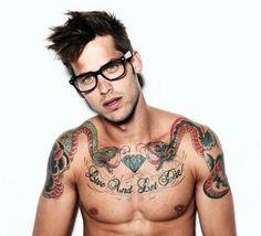 Cute and tattooed