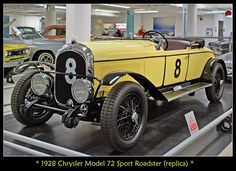 1928 Chrysler Model 72 Le Mans
