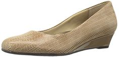 Trotters Womens Lauren Low Heel WedgeTaupe8 W US >>> Continue to the product at the image link.