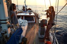 See Daria Werbowy's Gorgeous Real-Life Sailing Adventure | StyleCaster News