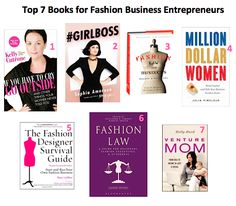 Top 7 Books For Fashion Lawyers and All Fashion Business Entrepreneurs