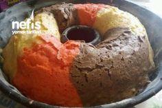 Nişastalı Pamuk Renkli Kek -7