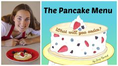 We sat down with Lucy Ravitch ( author of activity book The Pancake Menu, for a fun Q&A! We love her creative ideas! Fun Math, Book Activities, Creative Ideas, Pancakes, Menu, Birthday Cake, Tasty, Author, Desserts