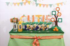 Little Cutie (clementine) baby shower theme!