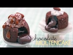Polymaniacs - Sweets Deco Series: Chocolate Molten Cake by Paperpastels