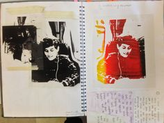AO2 Experimentation using Screen printing. St Mary's Catholic High School