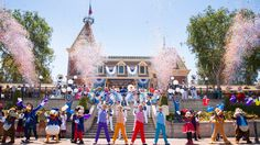 disneyland | This Week in Disney Parks Photos: Disneyland Resort Celebrates 61 ...