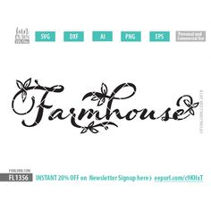 Farmhouse svg cuttin
