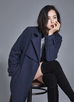 Lee Ha-nui looks ready for winter