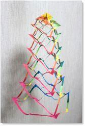 七夕飾り「網飾り」 折り紙・作り方 無料ダウンロード・印刷