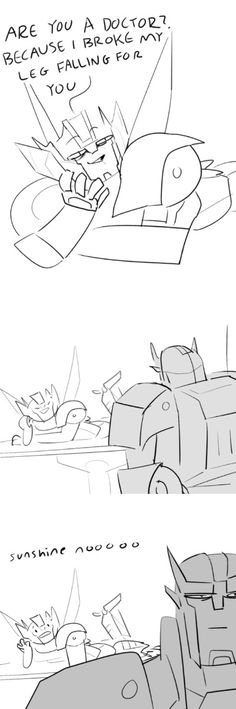 This is totally something Wheeljack would do just to get on Ratchet's nerves