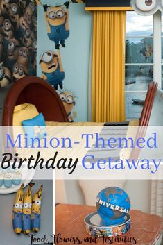 Birthday theme ideas for when you decide not to have a party. Create Minion food, cake, decorations, and games for boys. Minion Food, Minion Party, Minion Cookies, Diy Party, Party Ideas, Minion Shirts, Invitation, Games For Boys