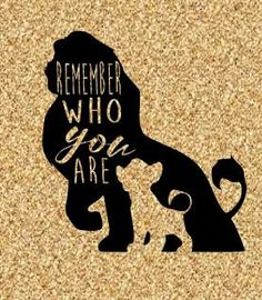 Lion King inspired silhouette SVG Digital File Instant Download Die Cut Machine Vector Cricut Explore Silhouette Cameo Digital File