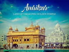 Book #tickets to #india. and  visit home to Sikhism's holiest shrine, the breathtaking land of Iconic Golden Temple in #amritsar  With #flights  to #india