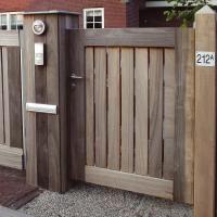 Fabriquer un portillon en bois | Portillon | Pinterest | Portillon ...