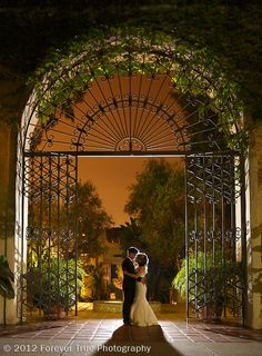 Los Angeles River Center And Gardens Wedding Navy
