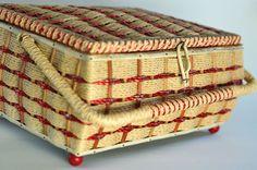 Great vintage sewing basket! @Christine Shook $19