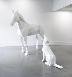 Image result for black horse sculpture