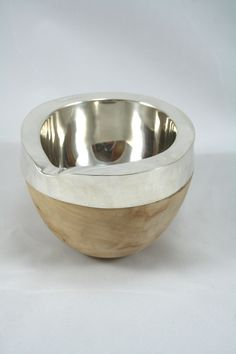 Conker and Sterling Silver Milk Jug. Handmade by Gill Tidgwell, www.GillTidgwell.co.uk
