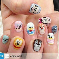 Tsum tsum, Disney Nail Art