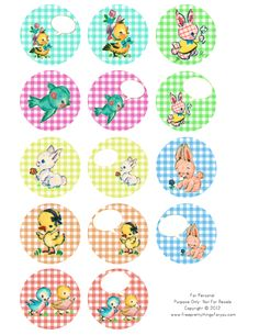 Alle Größen   free vintage baby animal 2 in circles by FPTFY   Flickr - Fotosharing!