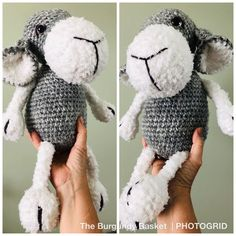 Crochet Sheep, Crochet Animals, Crochet Stitches, Crochet Patterns, Single Crochet Decrease, Single Crochet Stitch, Half Double Crochet, Big Twist, Photos Booth