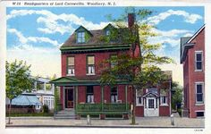 Cooper House/Lord Cornwallis' headquarters on Broad St., Woodbury, NJ. Demolished.