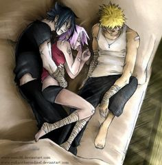 Naruto, Sasuke and Sakura... how it should be!!