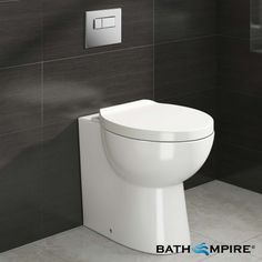 Modern Back to Wall Toilet | Crosby  - BathEmpire