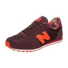 NEW BALANCE - KL410-Z6Y-M - Sneaker Kinder - bordeaux / orange
